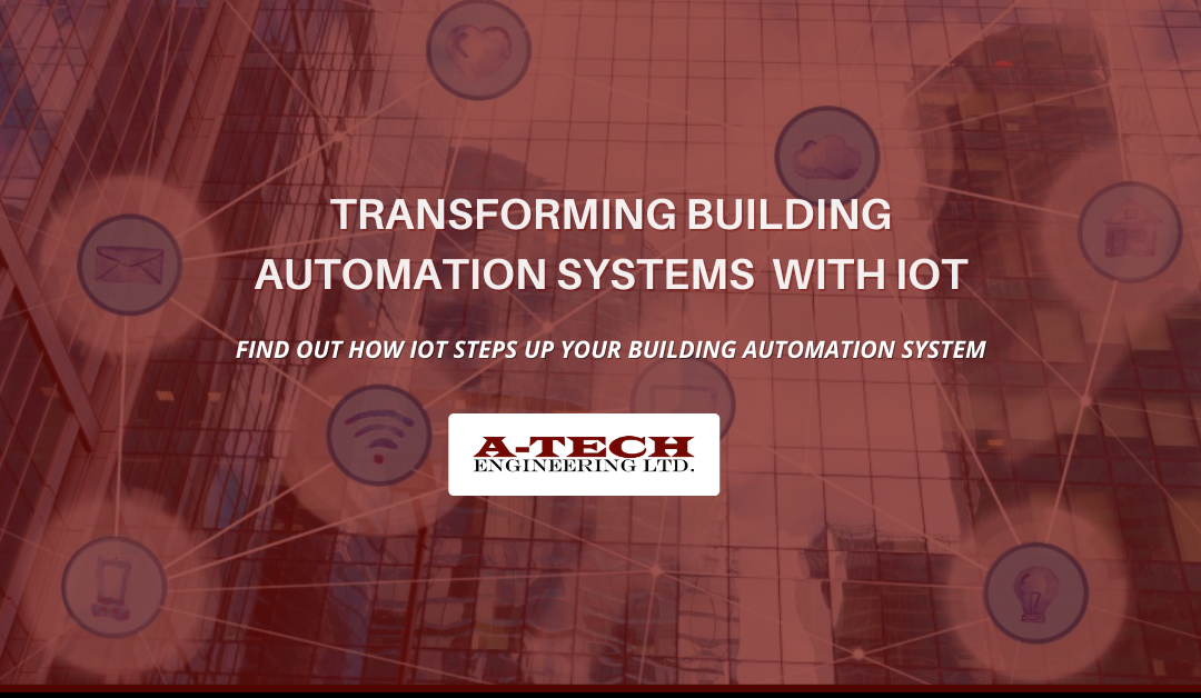Building Automation System with IOT